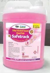 Safetrack - Ethyl Alcohol Based Hand Rub / 5 Ltr Pack