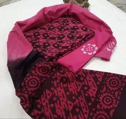 Bagru Hand Block Printed Cotton Unstitched Suit
