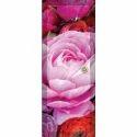 Floral Print PVC Door