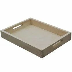 Pine Wood Serving Tray