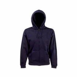 Ladies Zipper Hooded Sweatshirt