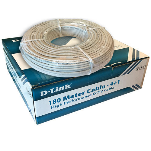 D Link D Link Dcc Whi 180 Mtr Cctv Cable 4 1 Id 19102779330