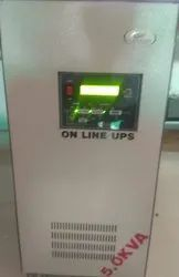 EMERSON IGBT Online Double Conversion Pure Sinewave UPS, Capacity: >20 KVA, for Industrial