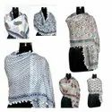 Floral Hand Block Cotton Printed Scarves