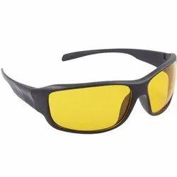 Multicolor Lens Black Frame Night Vision Driving Sunglasses For Men And Women