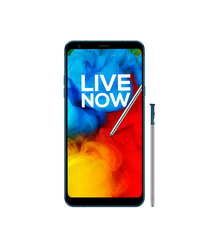 Aurora Black And Moroccan Blue LG Q Stylus IP68 Certified Mobile