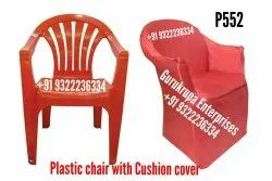 Plain Cotton Chair Cover, For Home
