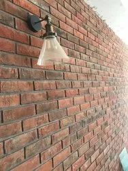 Perforated Wire cut Exposed Bricks