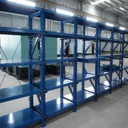 Mild Steel Paint Coated MS Die Storage Rack, For Warehouse, 500-1000 Kg Per Layer