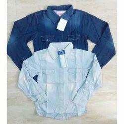 Girls Denim Shirt