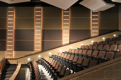 Wall Acoustics With Cove Lighting Stage Works India