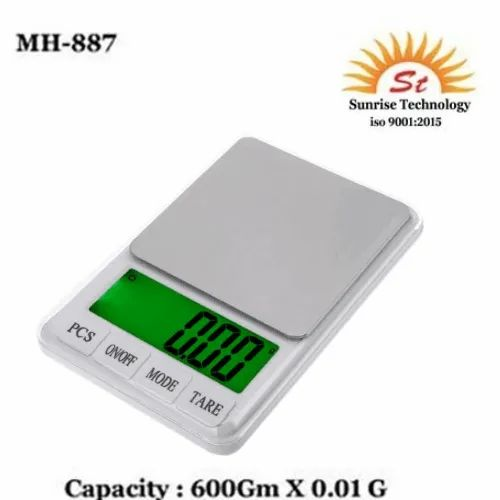 MH-887 Electronic Digital Scale 600 Gm