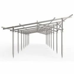 Solar Mounting Structure Galvanizing Service