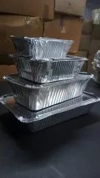 Container Of Alumunium Foil, for Utility Dishes