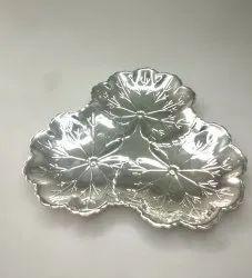 Three Sided Silver Plate FB1066
