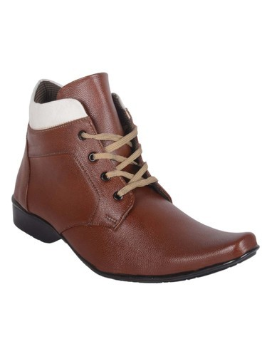 a597ce4007 Ryko Mens High Ankle Brown Formal Shoes, Size: 6-10, Rs 245 /piece ...
