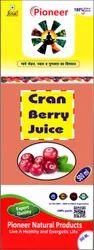 Cran Berry Juice 500 Ml, Packaging Type: Bottle