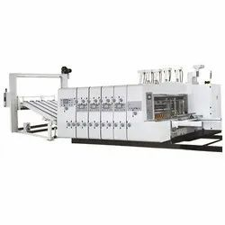 Lead Edge Feeding Flexo Printer With Die Cutter