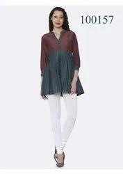 Fancy Top Style Kurti By Parvati Fabric
