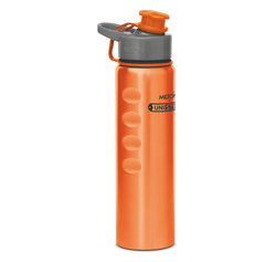 Milton Thermosteel Orange Bottle, Capacity: 1000