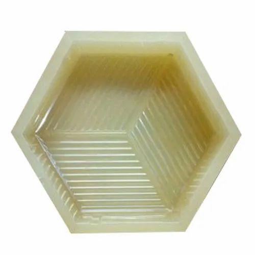 Hexagon Shape PVC Paver Block Mould