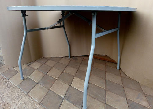 Kaarmik MS Powdercoated Folding Or Round Dining Table ...