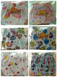 Mix Colours Cotton Mittens, Age Group: 0-1yr