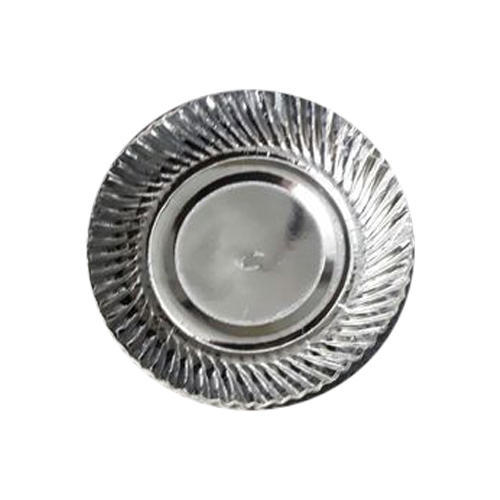 12 Inch Silver Disposable Paper Plates  sc 1 st  IndiaMART & 12 Inch Silver Disposable Paper Plates at Rs 60 /packet | Silver ...
