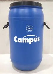 Blue Chemicals 65 Litre HDPE Open Top Drum, For Packaging Industry