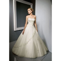 White Georgette Christian Wedding Dresses