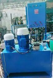 Mild Steel 30 HP Dual Motor Hydraulic Power Packs