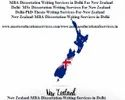 New Zealand Dissertation Writing Services