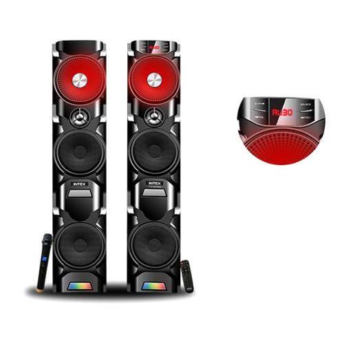 DJ And Multimedia Speakers - Intex DJ Tower Speakers
