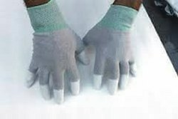 ESD Finger Tip Coated Gloves