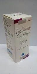 Zinc Gluconate 20mg. Oral Solution