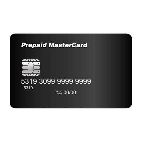 blackblack prepaid card size 856x55mm - Prepaid Black Card