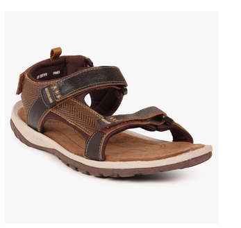 Leather Woodland Velcro Strap Casual