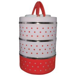 Insulated 3 Container Adjustable Food Grade Lunch Box