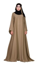 Women's Beads Work Nida Abaya Burqa with Dupatta