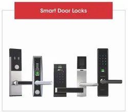 Biometric Door Locks, Finish Type: Stainless Steel