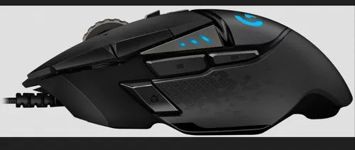 Black Logitech G502 Hero High Performance Gaming Mouse | ID