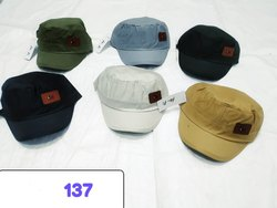 Skull Corron Caps,Embroidery Caps, Code 137
