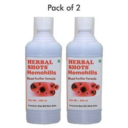 Herbal Hills Blood Purifier Syrup - Hemohills Shots 500mL
