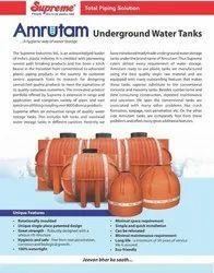 UNDER GROUND WATER TANK- SUPREME- AMRUTAM