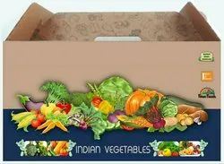 Vegetable packaging box 7kg
