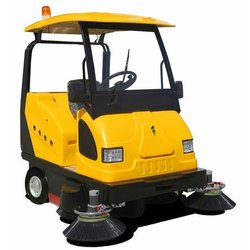 Battery Operated Road Sweeper
