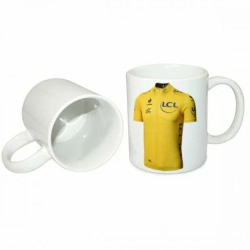 Plain Sublimation White Mug