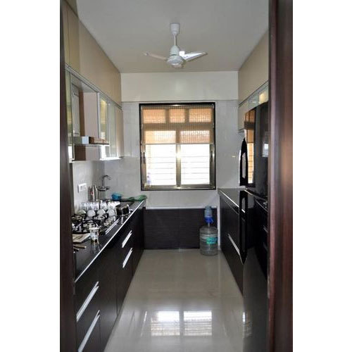 Parallel Modular Kitchen In Acrylic At Rs 750 Square Feet