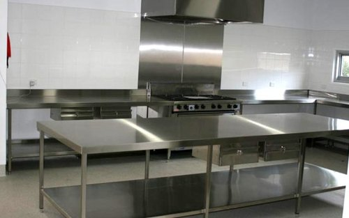 SK Kitchen Silver Commercial Kitchen