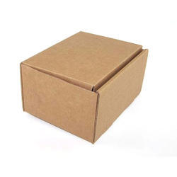 Plain Brown Corrugated Paper Box